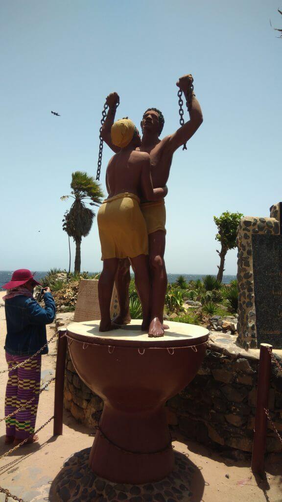 we-sisterhood-dakar-23-goree-statue-liberte-esclaves