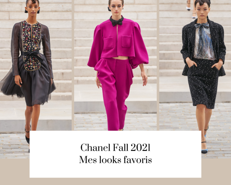 Chanel Fall 2021 – mes looks favoris