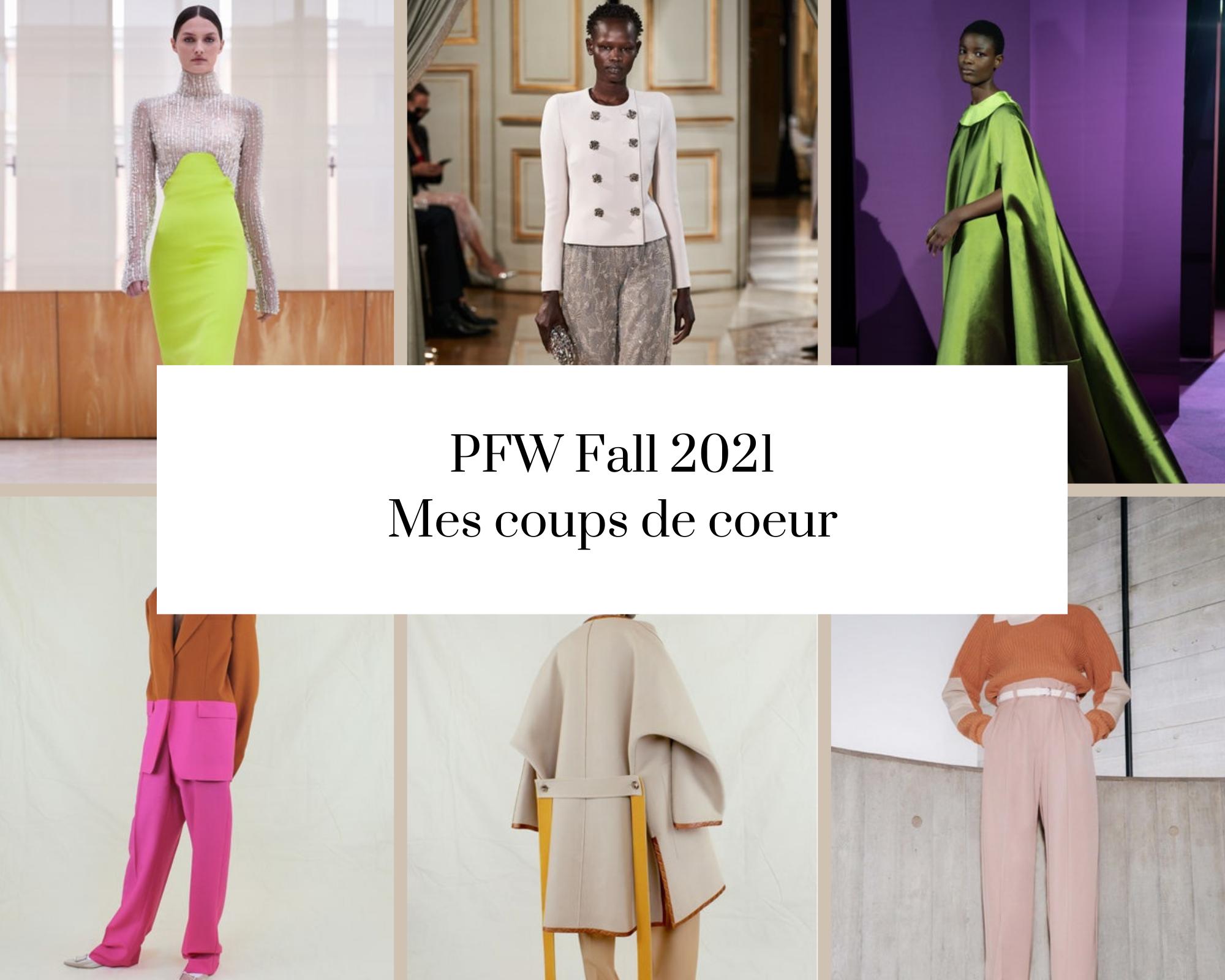 PFW Fall 2021 – mes coups de coeur