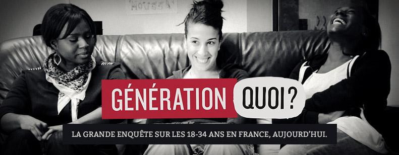 #GénérationQuoi , les 18 – 34 s'expriment !